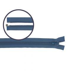 Spiraal rits deelbaar nylon 65cm - 5st