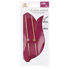 Tulip Knina Swivel rondbreinaald draaiend 80cm - 3st
