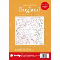 Tulip Sashiko World borduurpakket - 1st