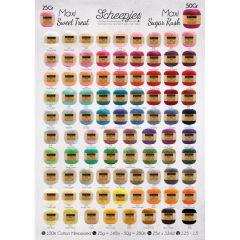 Scheepjes Maxi Sweet Treat-Sugar Rush poster A1 form. - 1st