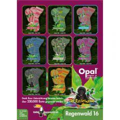Opal Regenwald 16 assortiment 4x150g - 8 kleuren - 1st