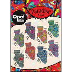 Opal Paradise 6-draads ast. 4x150g - 8 kleuren - 1st