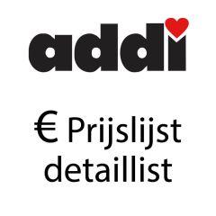 Prijslijst Detaillist Addi - 1st