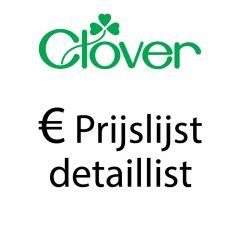 Prijslijst Detaillist Clover- 1st