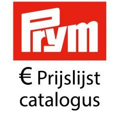 Prym Prijslijst per 01-01-2018 - Catalogus - 1 stuks