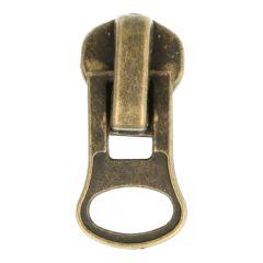Ritsenschuiver metalen rits-geschikt voor nr. 8 - 10st