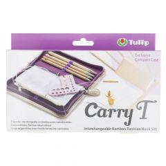 Tulip CarryT Tunische haaknaalden set bamboe - 1st