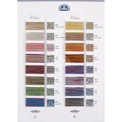 DMC Kleurkaart Coloris 517 - 1st