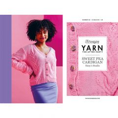 YARN The After Party nr.124 Sweet Pea Cardigan - 20st