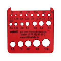 Addi Breinaaldmeter rood zonder mesjes - 1st