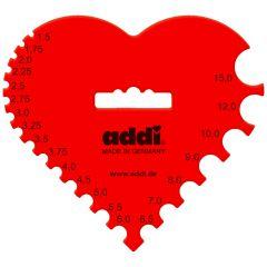 Addi Haak- en breinaaldenmeter hart 1.50-15.00mm - 1x10st
