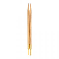 Addi Click verwisselbare breipunten olijfhout 3.5-12mm - 1st
