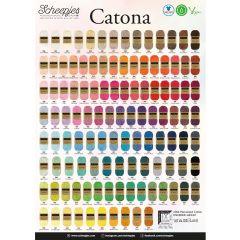 Scheepjes Catona poster A2 formaat - 1st