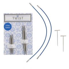 ChiaoGoo Twist lace short combo pack 5+8cm 1.50-3.25mm - 3st