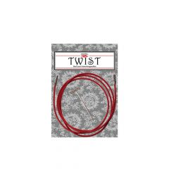 ChiaoGoo Twist Red kabels 125cm - 3st