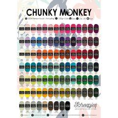 Scheepjes Chunky Monkey poster A2 formaat - 1st