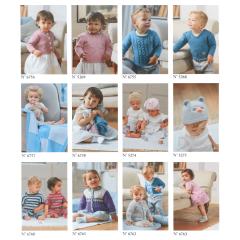 DMC Folder baby katoen set van 12 - 1st