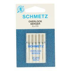 Schmetz Overlock 5 naalden - 10st
