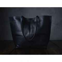 Furls Leren project handtas 43x33cm zwart - 1st