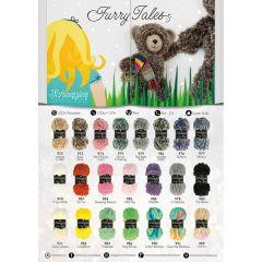 Scheepjes Furry Tales poster A2 formaat - 1st