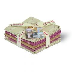 Gütermann Fat quarter bundle Pemberley 45x55cm - 1st