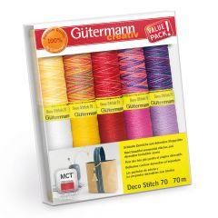 Gütermann Naaigarenset deco stitch nr.70 10x70m - 1st