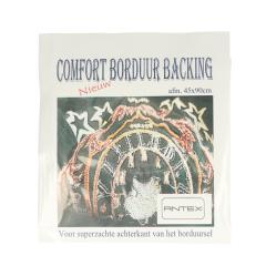 Antex Comfort borduur backing 45x90cm wit - 1st
