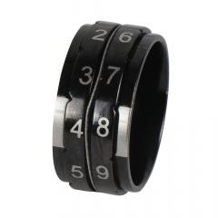 KnitPro Toerenteller ring 17,3-21,4mm zwart - 3st