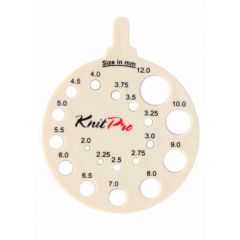 KnitPro Breinaaldenmeter rond - 3st
