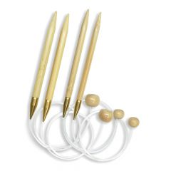 Seeknit Flexibele breinaalden met knop 50cm 2.0-15.0mm - 3st