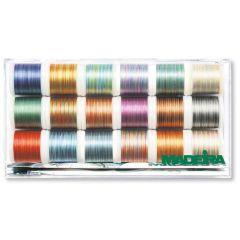 Madeira Polyneon Multicolorborduurgaren 18x200m - 1st