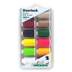 Madeira Aeroflock overlock box 12x1000m - 1st