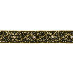 Frans paillettenband 35mm - 9m - 000