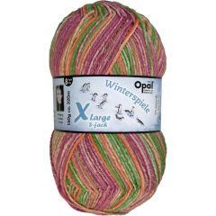 Opal Xlarge Winterspiele 8-draads 8x150g - 9595