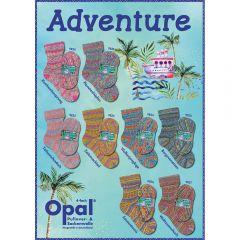 Opal Adventure assortiment 5x100g - 8 kleuren - 1st