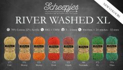 Scheepjes River Washed XL assorti. 5x50g - 8 kleuren - 1st