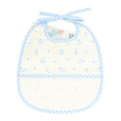 DMC Baby Stars slabbetje 6 maanden 24,5x29cm - 1st