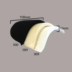 Schoudervulling satijn 10mm - 12 paar