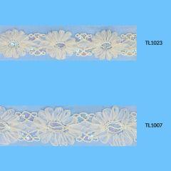 Band met bloemen 55-65mm - 6,5m