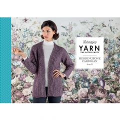 YARN The After Party no.29 Herringbone Cardigan - 20st